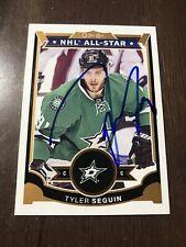 Tyler Seguin Autographed 2015 O Pee Chee Card Dallas Stars