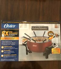 Oster DuraCeramic 3 Quart Electric Fondue Pot Unopened!