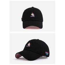3d0eb58080f Unisex Mens Womens Flipper Unicorn Tears Baseball Cap Trucker Dad Hats Black