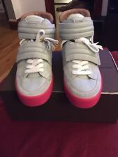 Louis Vuitton (Jaspers) Kanye West Grey/pink Patchwork Size 10.5 Preowned