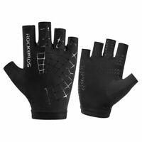 RockBros Cycling Sports Ice Slik Short Half Gloves Protect Leak Long Gloves