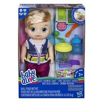 Baby Alive E0635 Sweet Spoonfuls Blonde Baby Doll Toy
