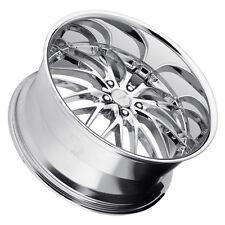 MRR GT1 19x9.5 5x114.3 Chrome Wheels Fits Hyundai Veloster Ex35 Fx35/45 Rx8