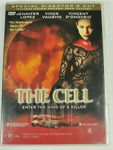 The Cell DVD Jennifer Lopez Movie - SPECIAL DIRECTOR'S CUT - RARE CULT CLASSIC