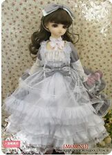 1/3 SD MSD DOD BJD dress skirt Suit Outfit lolita doll Dollfie LUTS Grey