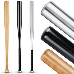 BearCraft Baseballschläger Holz/Aluminium 79cm in Holz oder Aluminium