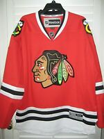 "Beautiful NHL LICENSED ""TEAM APPAREL"" CHICAGO BLACKHAWKS Hockey Jersey- Size XL"