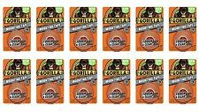 """Gorilla 6065001-12 Double-Sided Tough and Clear Mounting Tape (12 Pack), 1"""" x."""
