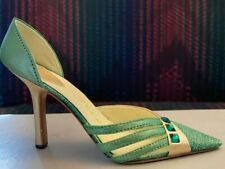 Raine Willitts Emerald May Birthstone Green Pump Trio Stones Just The Right Shoe
