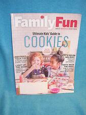 Family Fun Magazine December 2016 / January 2017 Ultmiate Guide to Kids Cookies