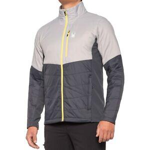 Men's Spyder Glissade Hybrid Insulator Jacket Alloy Grey XL