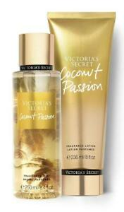 Victoria's Secret Coconut Passion Fragrance Mist & Body Lotion & Set