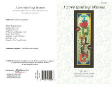 Quilt Woman.com I LOVE QUILTING SKINNIE pattern  Pattern  Quilting