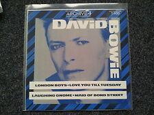 "David Bowie-london boys/love you till tuesday 12"" vinyl maxi"