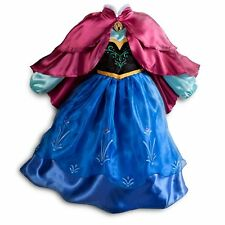 Disney's Frozen Princess Anna Costume Disney Store Exclusive 9/10 Gown Dress Up