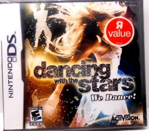NINTENDO DS, DANCING WITH THE STARS, WE DANCE! BRAND NEW