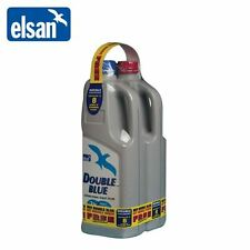 Elsan Double Pack 2L Toilet Fluid Cleaner Chemical For Caravan & Motorhome