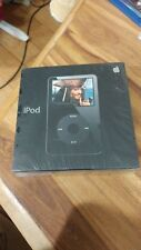 New Vintage Apple 30 GB iPod 5.5 Generation Black brand new unopened