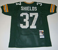 PACKERS Sam Shields signed custom green jersey w/ #37 JSA COA AUTO Autographed