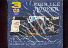 JOHN LEE HOOKER-IT SERVE YOU RIGHT.../HOUSE OF BLUES/LONESOME MOOD 3CD SIGILLATO