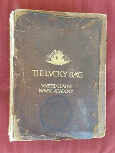 1922 United States Naval Academy Navy College Yearbook Annapolis Maryland Md.