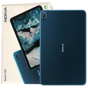 """Nokia T20 (Wi-Fi) - 64GB + 4GB RAM 10.4"""" inch, Android Tablet - Deep Blue Ocean"""