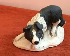 Sheepdog Figurine from The Cotswolds - Good Condition for Age