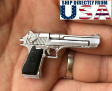 "1/6 IMI Desert Eagle Pistol For Commando Arnold Model Gun For 12"" Action Figure"