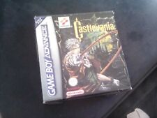 NINTENDO GAMEBOY ADVANCE (GBA) - CASTLEVANIA COMPLETE PAL BOXED GAME