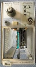 Tektronix 7D12 A/D Converter