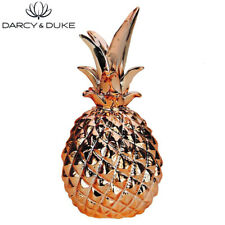 NEW Darcy and Duke 1 x Retro Pineapple Decorative Item Home Decor Copper Finish