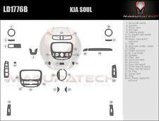 Fits Kia Soul 2014-2017 Basic Premium Wood Dash Trim Kit