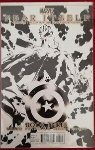 °FEAR ITSELF BOOK THREE°US Marvel 2011 3. Ausdruck S&W Cover Brubaker & Fraction