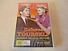 Behave Yourself DVD Shelley Winters, Farley Granger New