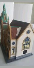 * Dept 56 Christmas in the city collection All Saints Corner Church