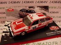 voiture 1/43 IXO altaya Rallye Monte Carlo : CITROËN CX diesel 1978 Dacremont