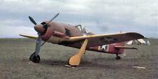 FOCKE-WULF Fw 190 A-5, Jagdflugzeug. Modellbauplan RC M 1:3,8