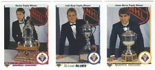 8 1990-91 UPPER DECK HOCKEY SPECIAL CARDS (ROY/HULL/BOURQUE+++)