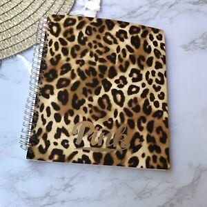 Victoria's Secret PINK Leopard Print Planner 16-17