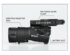 M720V Tactical Light Upgraded Version Constant Strobe Output Weapon Light
