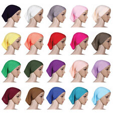 Muslim Women Turban Scarf Bonnet India Inner Ladies Hijab Head Wrap Cover Hat