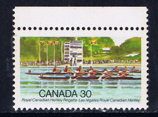 Canada #968(1) 1982 30 cent ROYAL CANADIAN HENLEY REGATTA - Competition MNH