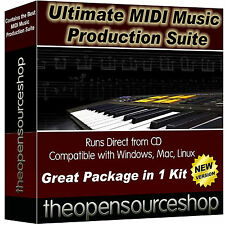 Professional Music Studio Recording Software Package Learn To Create New Music