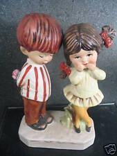 Gorham Moppets 1971 BOY & GIRL IN LOVE FIGURINE