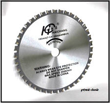 "185mm (7-1/4"")  x 20mm x 36T Metal Cutting Circular Saw Blade TCT"