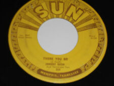 JOHNNY CASH Sun 45 There You Go/Train of Love VG++