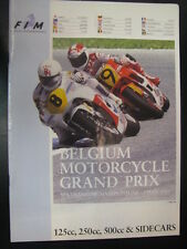 Belgium Motorcycle Grand Prix 29 June - 3 July 1989 Spa Francorchamps (B)
