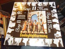 BOYZ II MEN - COOLEYHIGHHARMONY 180 GRAM VINYL ALBUM WITH DOWNLOAD 2016 SEALED