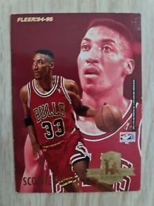 Carte collection Basketball 🏀 Fleer 94 95 Hakeem Olajuwon NBA Scottie Pippen
