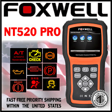 Diagnostic Scanner Foxwell NT520 PRO for JEEP Wrangler OBD Code Reader ABS SRS
